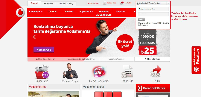 vodafone self servis online işlemler android makale com rom root cwm işlemleri