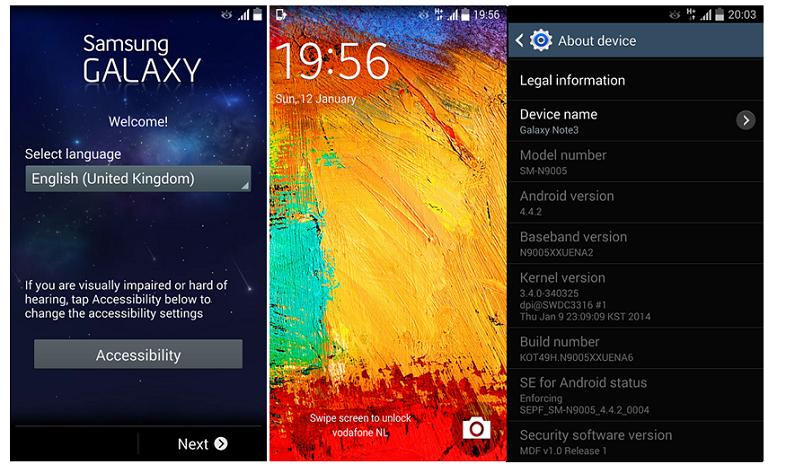 Samsung Galaxy Note 3 (N9005) Orjinal Android 4.4.2 Kitkat Yükleme Rehberi Samsung Galaxy Note 3 Orjinal N9005 Kitkat Yükleme Rehberi Android 4.4.2