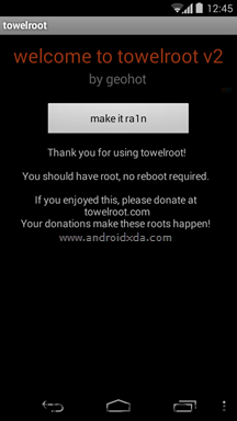 Towelroot-success-androidmakale