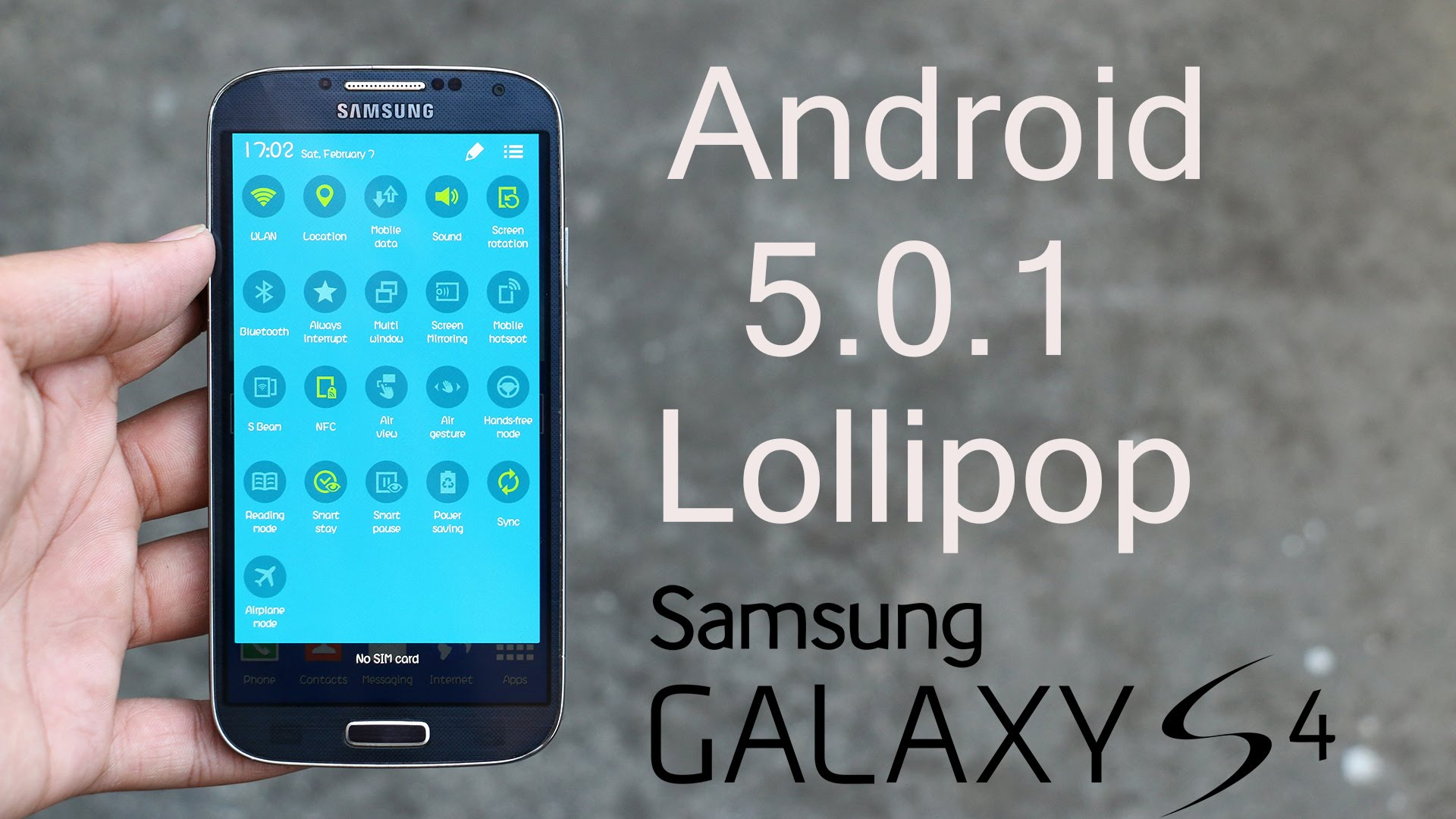Photo of Samsung Galaxy S4 Android 5.0.1 Lollipop (I9500) Orjinal Rom Yükleme