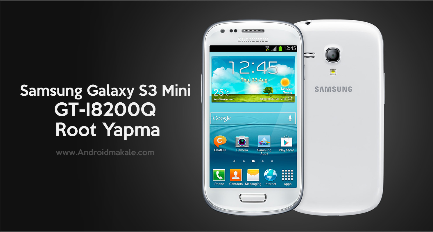 Samsung Galaxy S3 Mini (GT-I8200Q) Root Yapma samsung galaxy s3 mini i8200q root yapma s3 mini root root yapma how to root s mini i8200q root gt-i8200q root yapma android makale