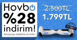 Hovbo'da Beklenen Yaz Kampanyası Başladı hoverboard hovbo turkiye hovbo fiyat en uygun