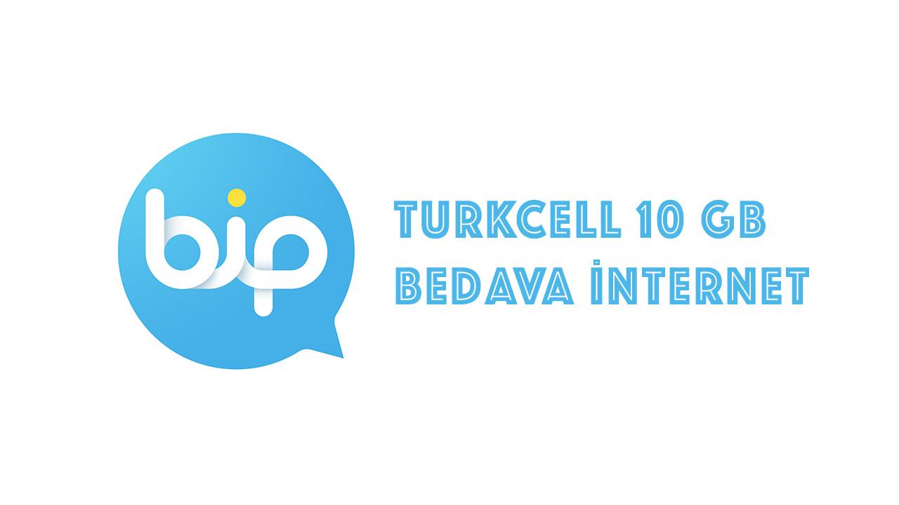 Turkcell 10 GB Bedava İnternet Kampanyası turkcell bedava internet 10 gb