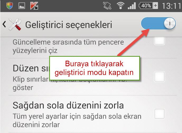 Android Geliştirici Modu Rehberi Android Geliştirici Modu Rehberi Android Geliştirici Mod ne işe yarar