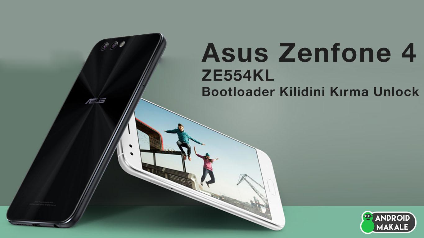 Asus Zenfone 4 (ZE554KL) Bootloader Kilidini Kırma (Unlock) ze554kl bootloader unlock bootloader kırma asus zenfone 4