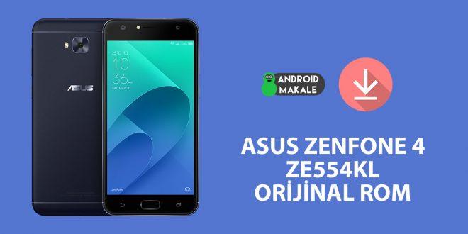 Asus Zenfone 4 (ZE554KL) Orjinal Rom indir zenfone 4 ze554kl rom orijinal firmware asus