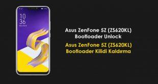 Asus ZenFone 5Z (ZS620KL) Bootloader Unlock zs620kl bootloder kilidi kaldırma bootloader unlock asus zenfone 5z