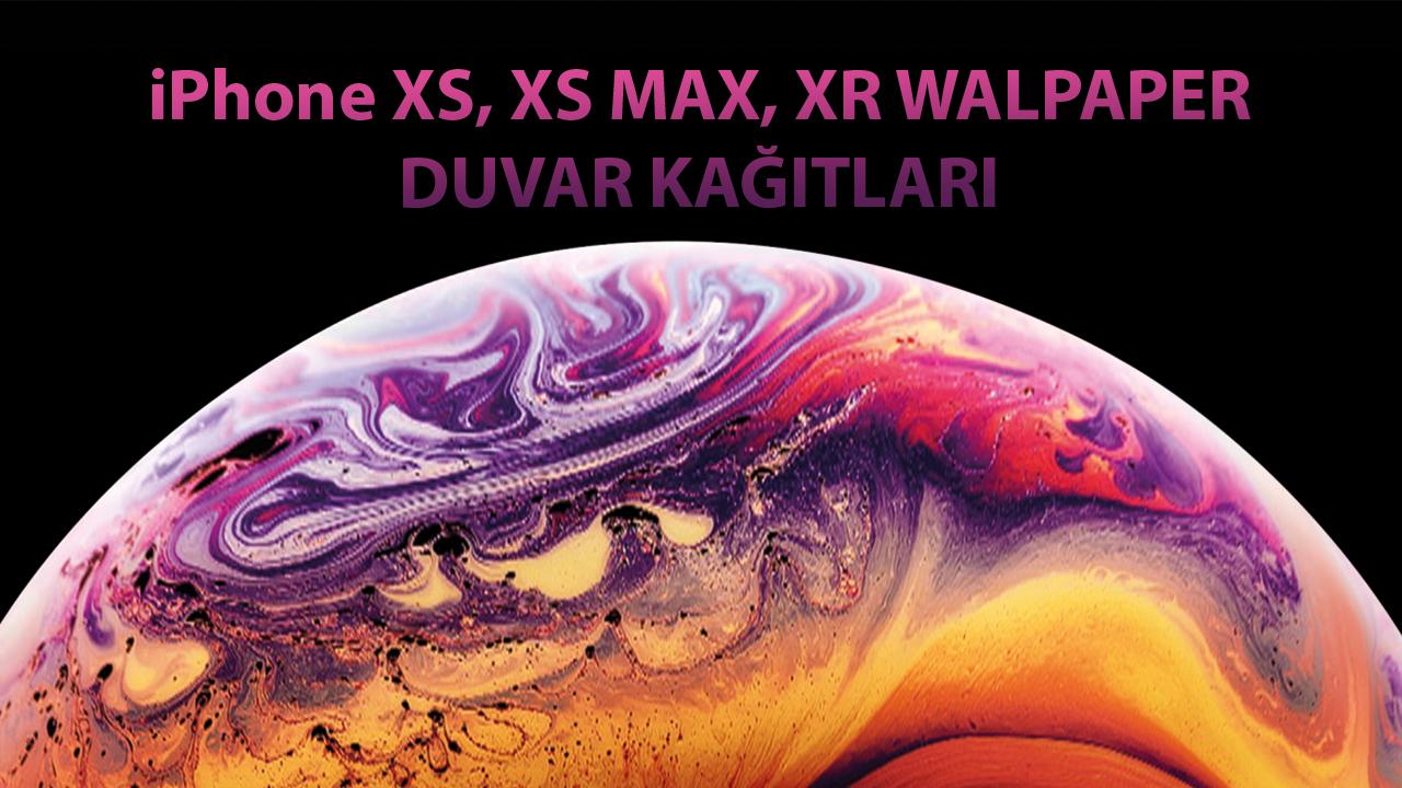 Photo of Apple iPhone XS, XS Max ve XR Duvar Kağıtları (Stock Wallpaper)
