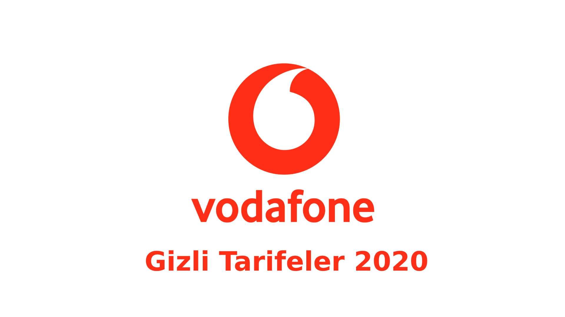 Vodafone Gizli Tarifeler 2020 vodafone gizli tarifeler 2020