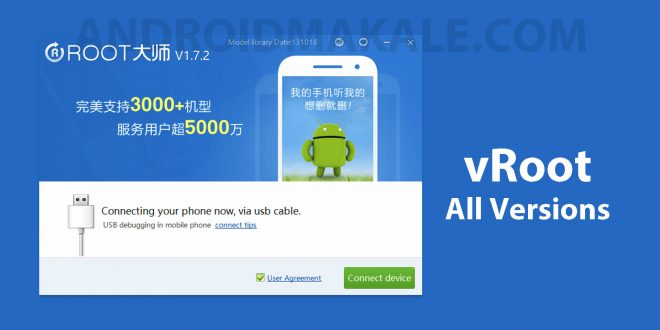 vRoot Uygulamasını İndirin (Tüm Sürümler) vroot indir vroot download tüm versiyonlar all versions