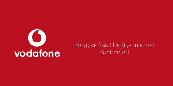Vodafone Bedava İnternet Yöntemleri 2020 vodafone hediye internet bedava internet
