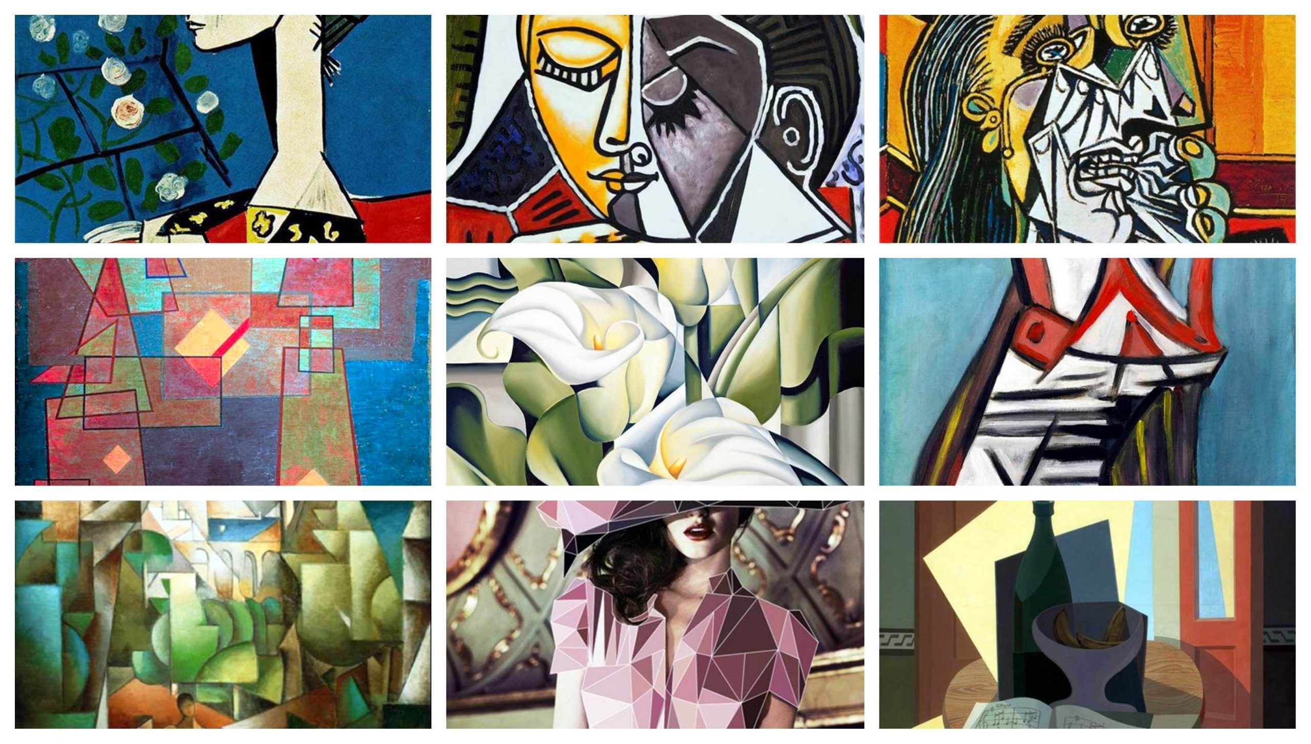 30 Examples Of Cubism Art Works