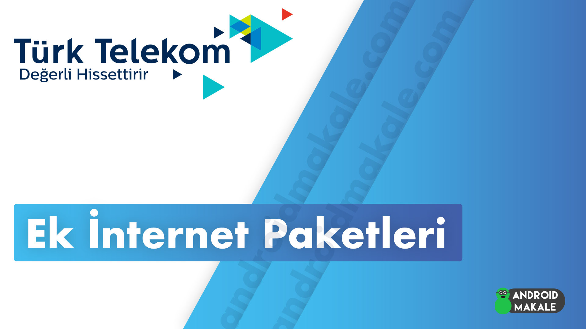 Türk Telekom Pakete Ek Haftalık ve Günlük İnternet Paketleri